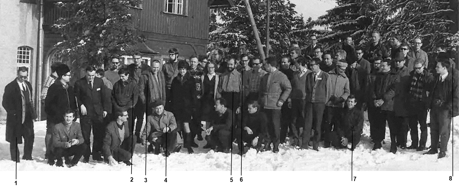 Vth Karpacz Winter School of Theoretical Physics - 1968